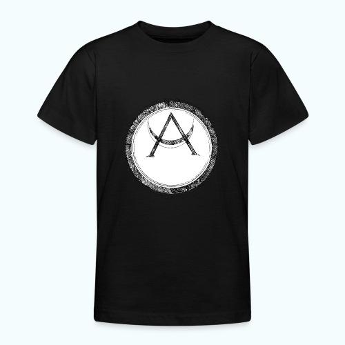 Mystic motif with sun and circle geometric - Teenage T-Shirt