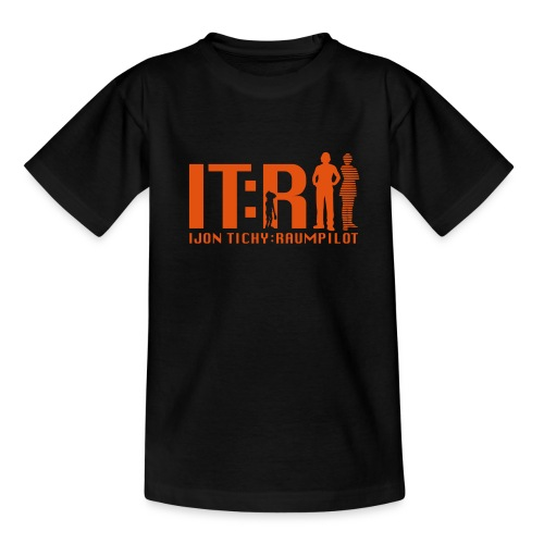 tichy logo klein - Teenager T-Shirt