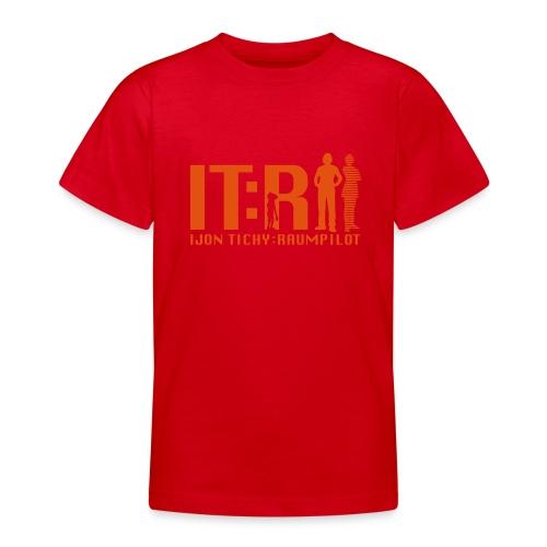 tichy logo klein - Teenager T-Shirt
