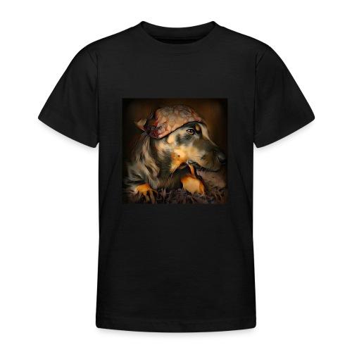 Biker Pinia - Teenager T-Shirt