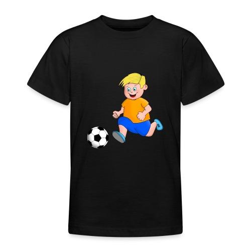 Junger Fußballer - Teenager T-Shirt