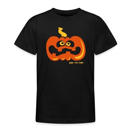 Scared Pumpkin - Teenage T-Shirt