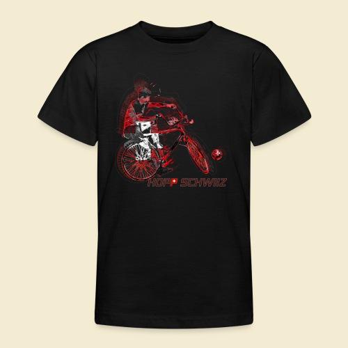 Radball   Hopp Schwiiz - Teenager T-Shirt