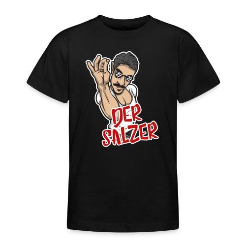 Der Salzer | Grillmeister Tshirt - Teenager T-Shirt