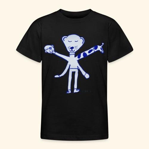 LeniT Teddy With a Twist - Nuorten t-paita
