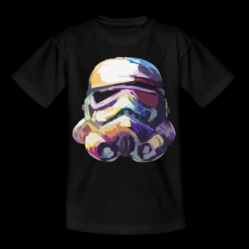 Stormtrooper with Hope - Teenage T-Shirt