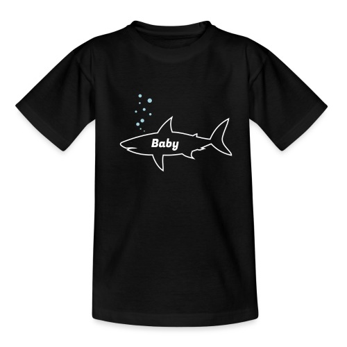 Baby shark - Fathers Day gift - Matching outfit - Teenager T-Shirt