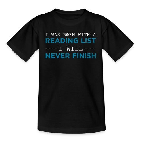 0194 Leseliste | Buchliste | SuB | Bücher - Teenage T-Shirt