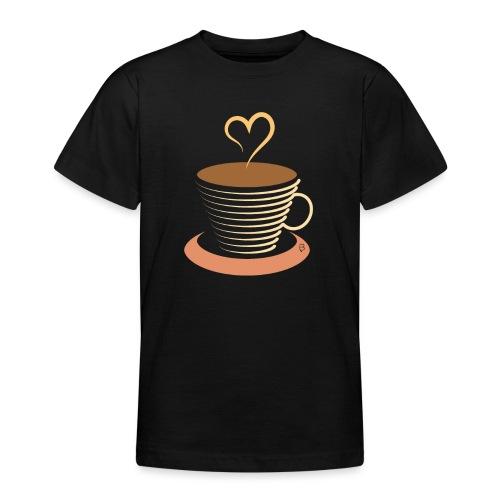 0251 Coffee | Coffee lovers | coffee pot - Teenage T-Shirt