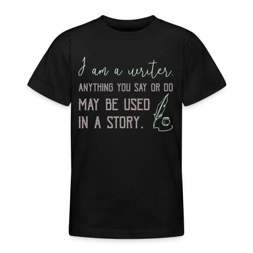 0267 History | Author | Writer | story - Teenage T-Shirt