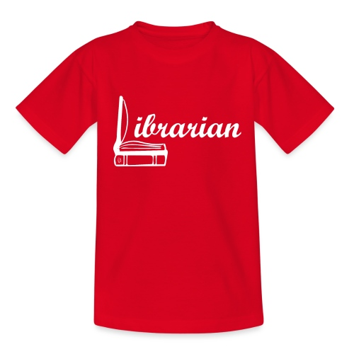 0325 Librarian Librarian Cool design - Teenage T-Shirt