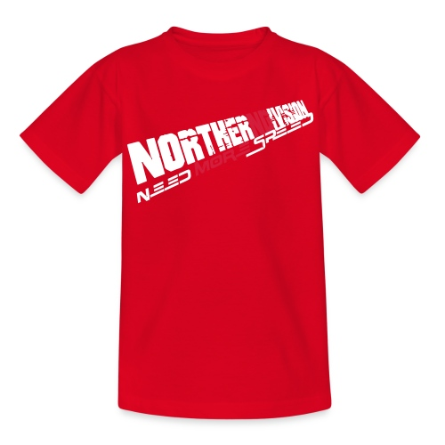 nd badg 2vari perspective - Nuorten t-paita