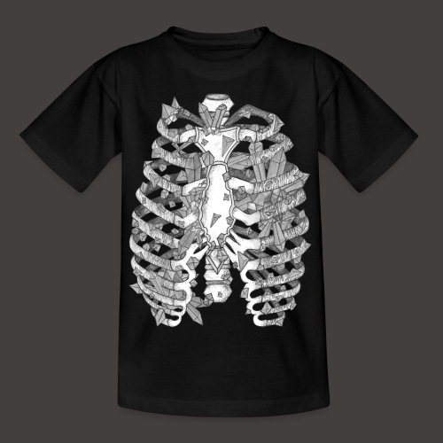 La Cage Thoracique de Cristal - T-shirt Ado
