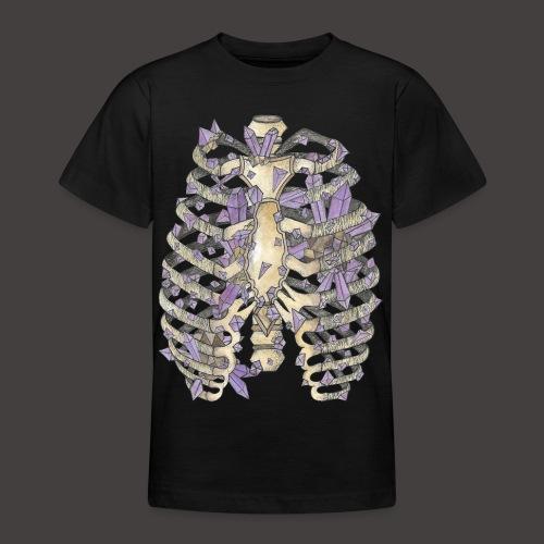 La Cage Thoracique de Cristal couleur - T-shirt Ado