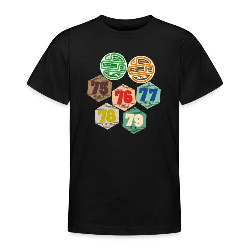 Vignettes automobiles années 70 - T-shirt Ado