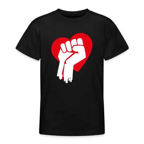 Love Fist 1 - Teenager T-Shirt