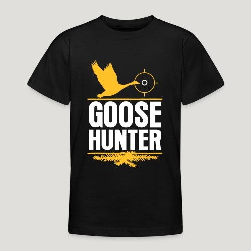 Jägershirt Gänse Jäger Goose Hunter Wildgans Jagd - Teenager T-Shirt