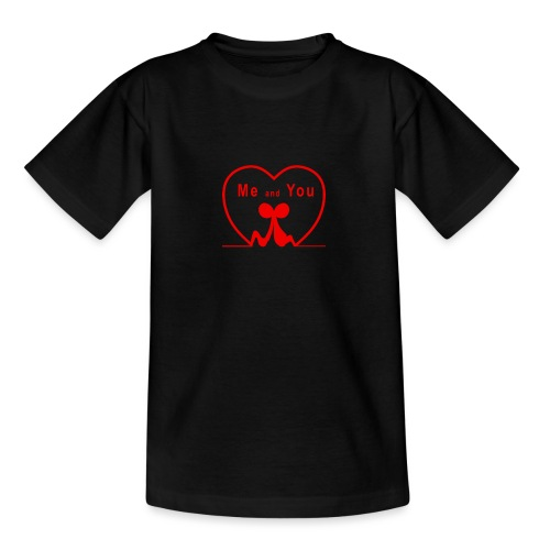 Io e te... RED - Maglietta per ragazzi