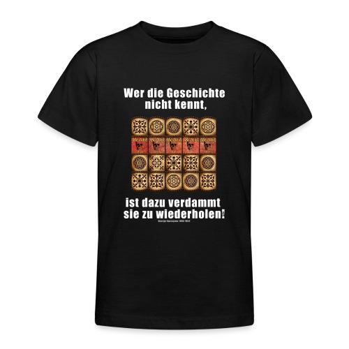 71_Geschichte_Lernen - Teenager T-Shirt