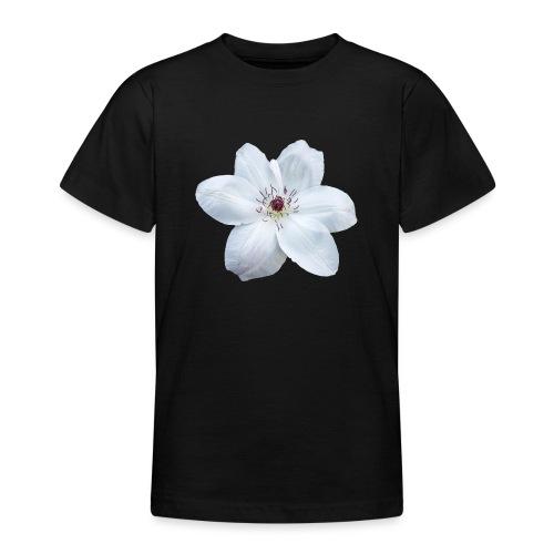 Jalokärhö, valkoinen - Nuorten t-paita