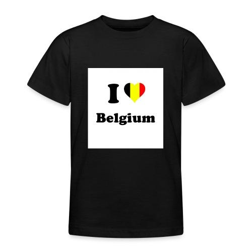 i love belgium - Teenager T-shirt