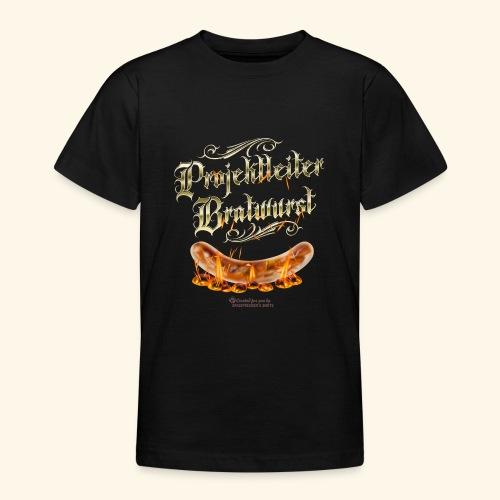 Projektleiter Bratwurst Spruch für Grillen & BBQ - Teenager T-Shirt