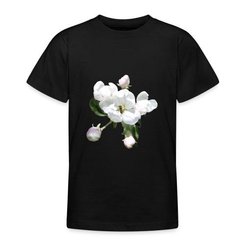 Omenankukka ja kukkakärpänen - Nuorten t-paita