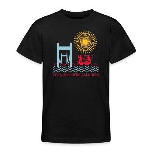 koelnmuelheim mit sonne - Teenager T-Shirt