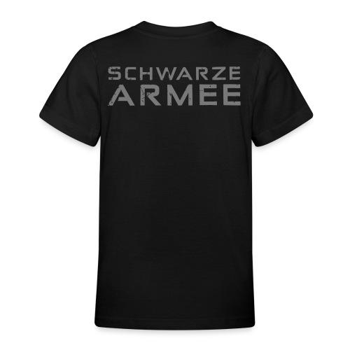 Grey Negant logo + SCHWARZE ARMEE! - Teenager-T-shirt