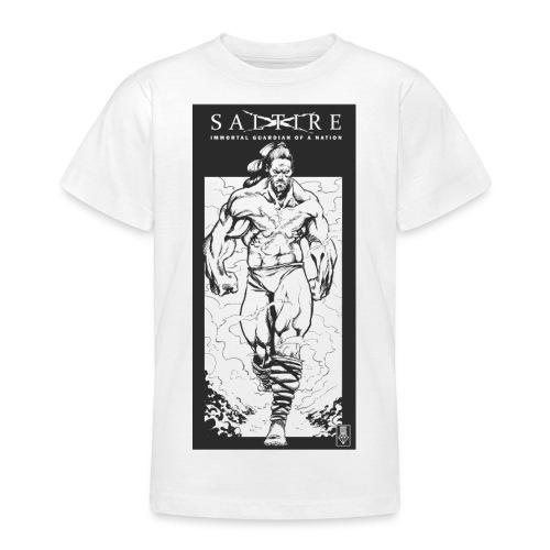 Saltire Scottish Superhero Logo - Teenage T-Shirt