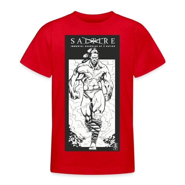Saltire Scottish Superhero Logo
