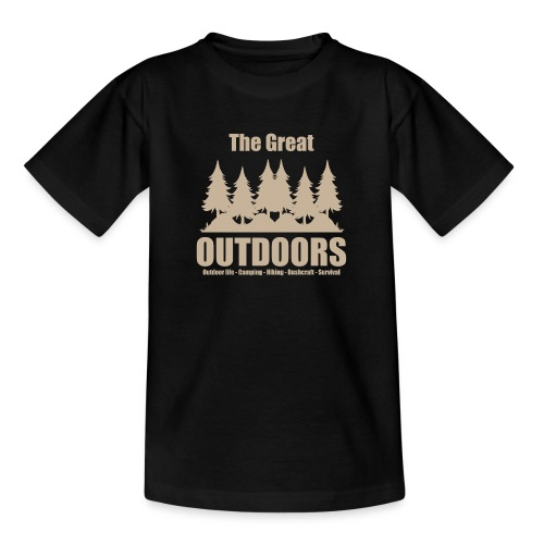 The great outdoors - Clothes for outdoor life - Teenage T-Shirt