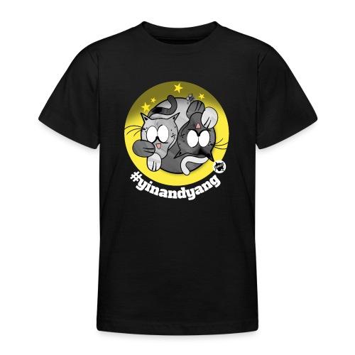 Astrokatze Zwillinge - Teenager T-Shirt