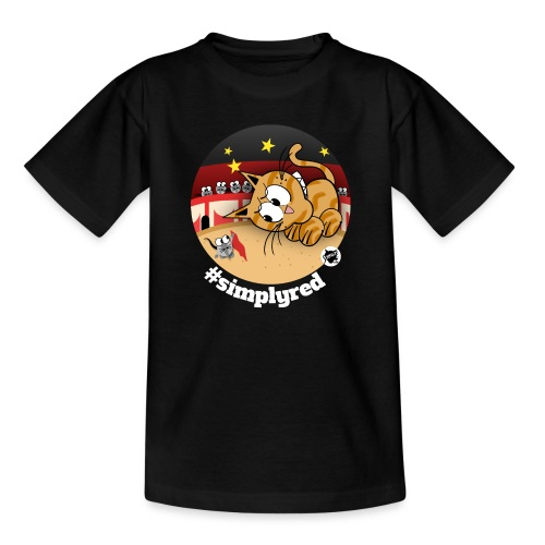 Astrokatze Stier - Teenager T-Shirt