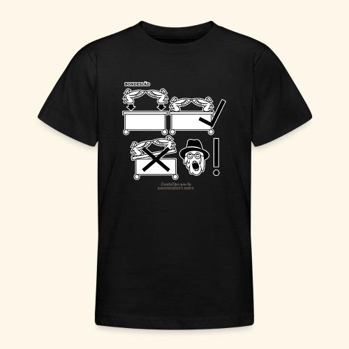 Film Geek T Shirt Design Bondesläd - Teenager T-Shirt