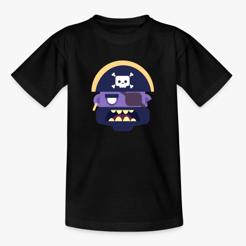 Mini Monsters - Captain Zed - Teenager-T-shirt