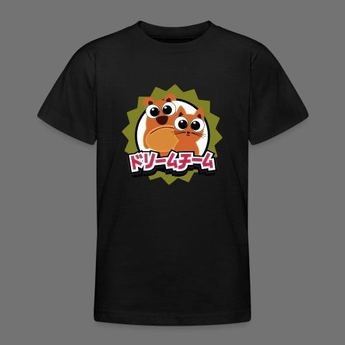 Dream Team Koira ja kissa - Nuorten t-paita