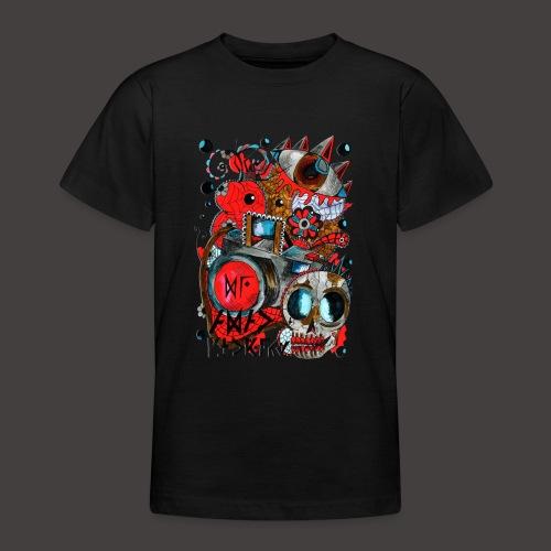 AGAC Picture Rouge et Bleu - T-shirt Ado