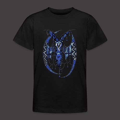 Chauve Souris Dentelle Bleue - T-shirt Ado