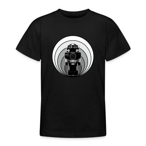 Cooles 80er Retro Roboter T-Shirt Scifi Geschenk - Teenager T-Shirt