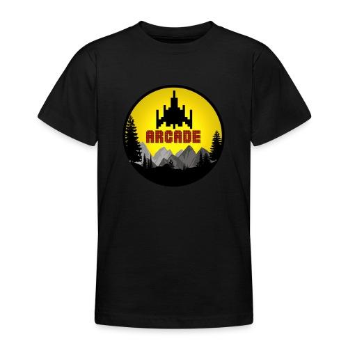 Cooles Vintage Gamer Arcade T-Shirt Old School Fun - Teenager T-Shirt