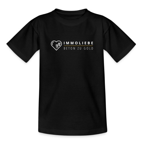 Beton zu Gold mit Immoliebe 💛 - Teenager T-Shirt