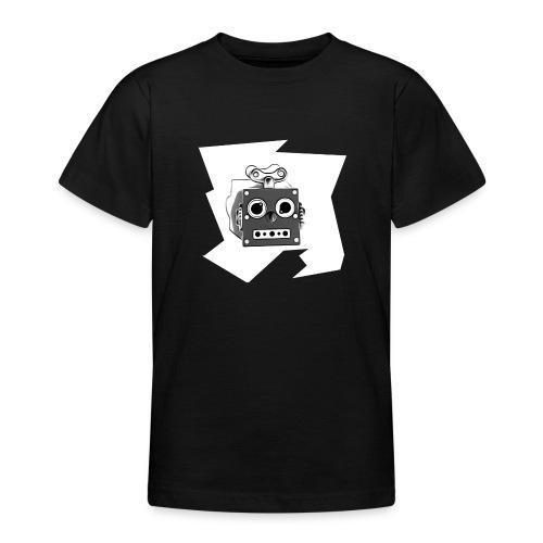 Cooles lustiges Sci-Fi T-Shirt mit vintage Robobot - Teenager T-Shirt