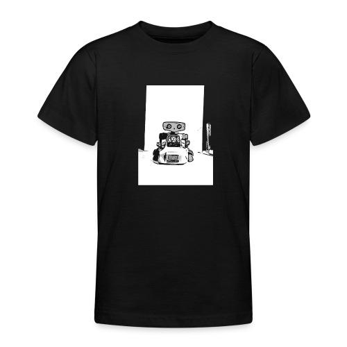 Vintage Retro Roboter Bot Robot Scifi T-Shirt - Teenager T-Shirt