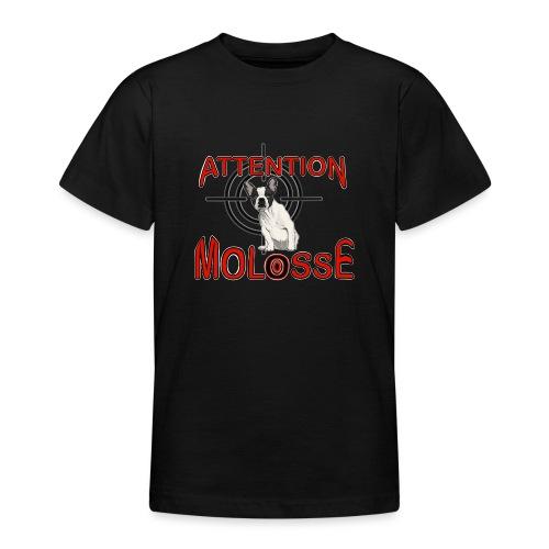 Attention Molosse Bouledogue Français - T-shirt Ado