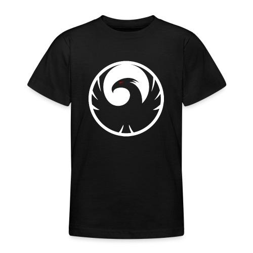Phönix Logo Schattierung Phoenix weis white rund - Teenager T-Shirt