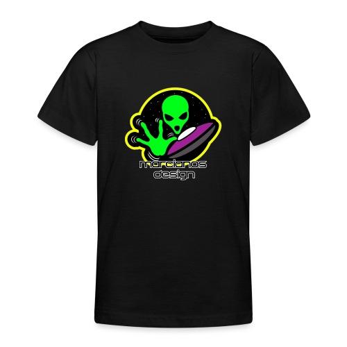 Logo Marcianos - Camiseta adolescente