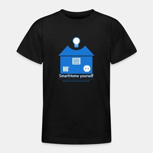 SmartHome yourself Logo Groß - Teenager T-Shirt