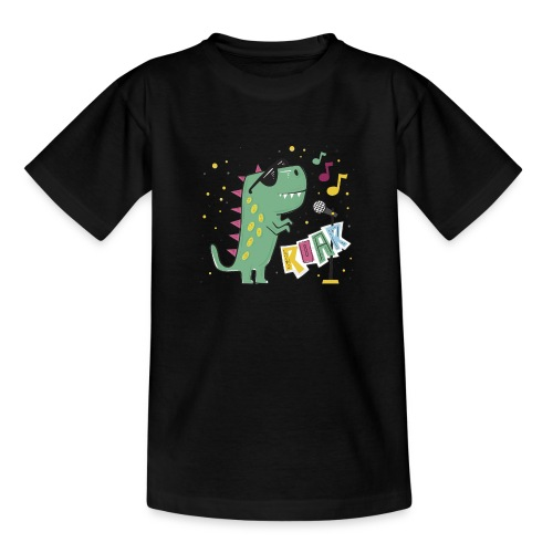 DINO MUSIC 1 - Camiseta adolescente