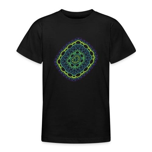 Emerald weave spun from the chaos 5320viridis - Teenage T-Shirt
